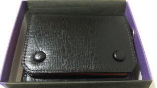 【L'arcobaleno】小さくて使い勝手の良い財布を探してみた【三つ折りミニウォレット】