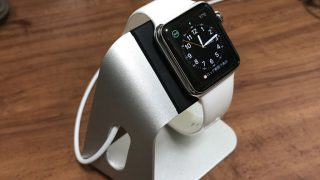 【Apple Watch】おしゃれな充電用スタンド(Spigen S330)を買ってみた【レビュー】